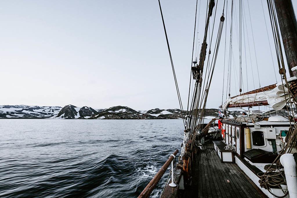 Découverte du Groenland