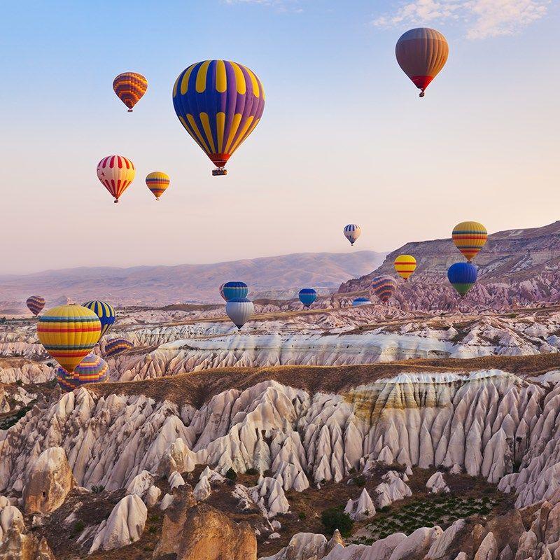 Circuit Meilleur de la Cappadoce & Antalya