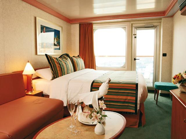 Cabines avec balcon privé, vue sur mer 0