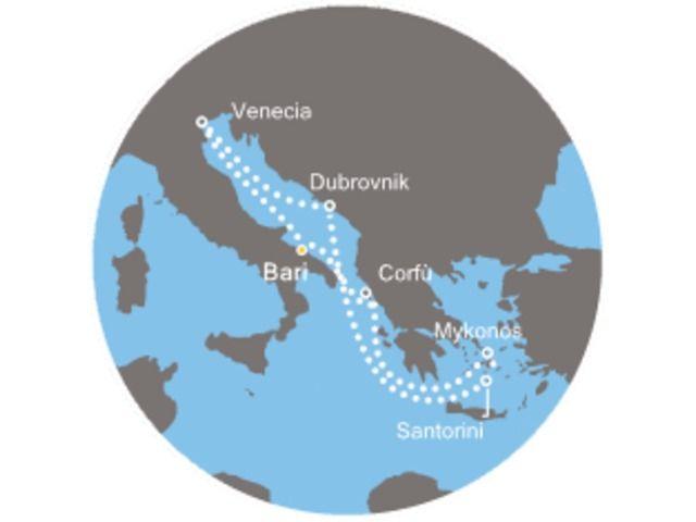 crucero-Islas griegas con el Costa Deliziosa