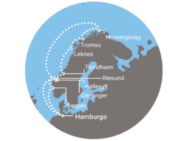 crucero-Alemania, Noruega con el Costa Pacifica