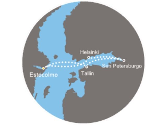 crucero-Suecia, Estonia, Rusia, Finlandia con el Costa Magica