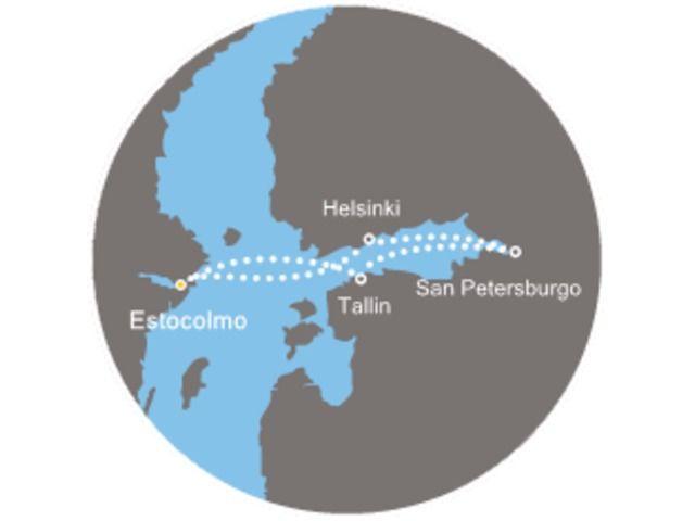 crucero-Suecia, Finlandia, Rusia, Estonia con el Costa Mediterranea