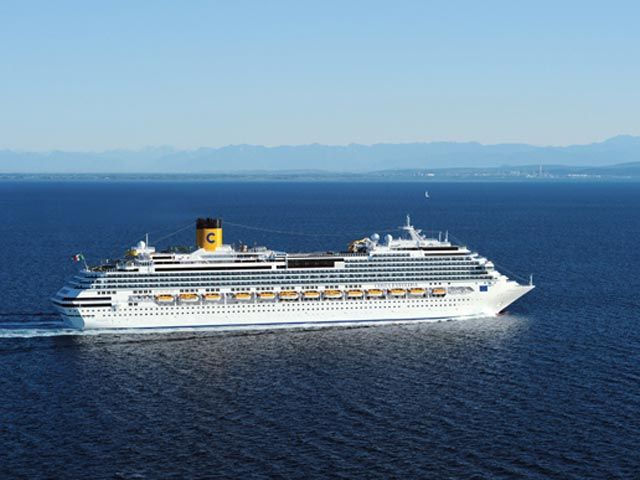 crucero-España, Italia, Francia, Portugal con el Costa Favolosa