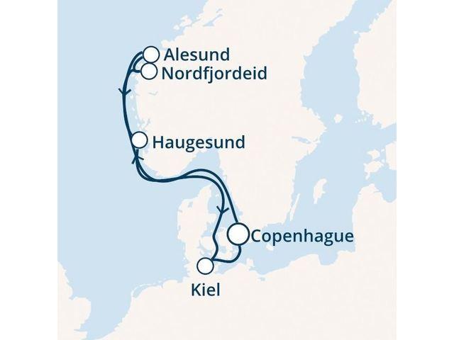 Croisière en Europe du nord à bord du Costa Diadema - 1