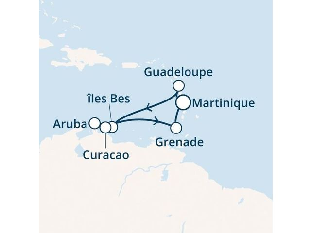Antilles avec le Costa Favolosa