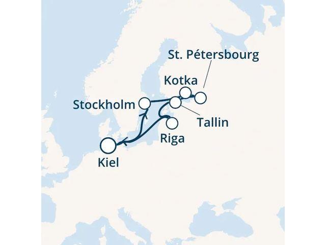 Croisière en Europe du nord à bord du Costa Fascinosa - 1