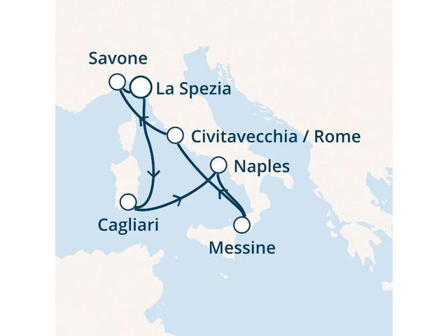 Croisière en Méditerranée à bord du Costa Smeralda - 2