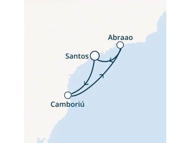 Brésil avec le Costa Luminosa