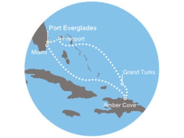 Noël entre Floride et Bahamas avec le Costa Deliziosa