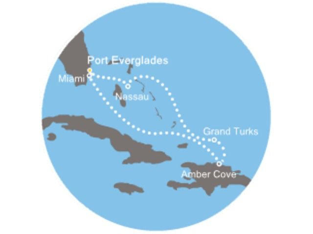 Noel entre Floride et Bahamas avec le Costa Deliziosa