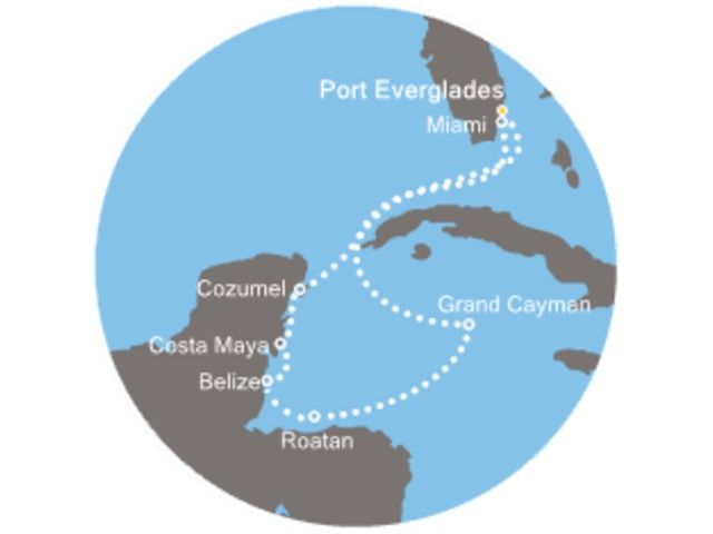 Caraïbes magiques avec le Costa Deliziosa