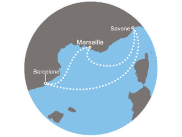 Pastis et paella avec le Costa Mediterranea