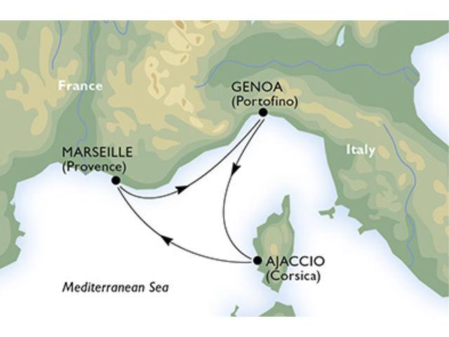 crucero-Francia, Italia - 4 noches a bordo del MSC Magnifica
