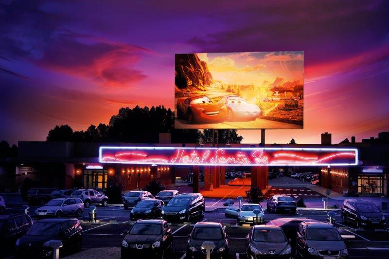 France - Ile de France - Disneyland Paris - Paris - Disney's Hotel Santa Fe® : Evadez-vous sur la légendaire Route 66 !