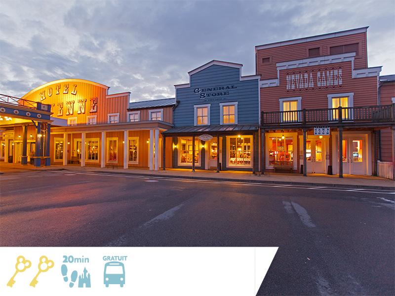 Disney's Hotel Cheyenne : Jusqu'à -35% sur votre séjour + 100euros OFFERTS à dépenser dans les boutiques et restaurantsdes Parcs Disney®!