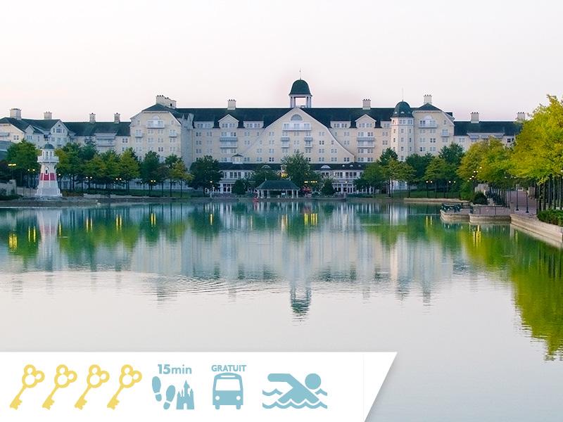 Disney's Newport Bay Club : Jusqu'à -35% sur votre séjour + 100euros OFFERTS à dépenser dans les boutiques et restaurantsdes Parcs Disney®!