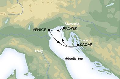 crucero-Italia, Croacia, Montenegro - 3 noches a bordo del MSC Musica