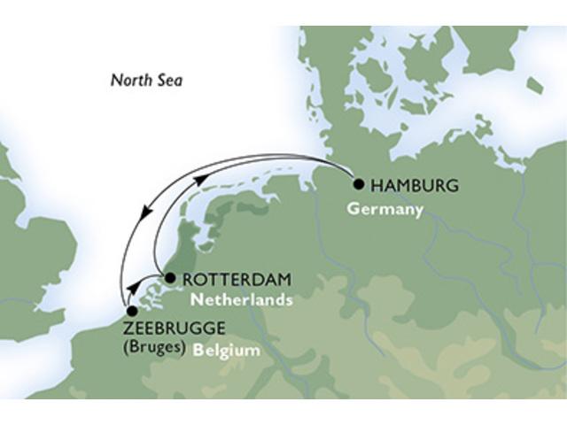 crucero-Alemania, Bélgica, Holanda - 4 noches a bordo del MSC Preziosa
