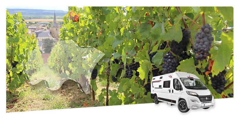 France - Alsace Lorraine Grand Est - Road Trip en Fourgon Aménagé : Sur Les Routes Du Champagne