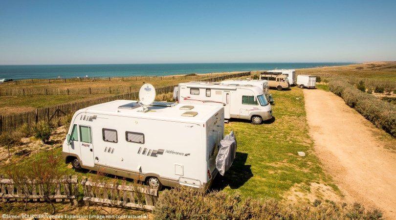 France - Atlantique Nord - Longeville sur Mer - Pornic - Saint Jean de Monts - Road Trip en Camping-car Capucine : La Côte Vendéenne et l'Île de Noirmoutier