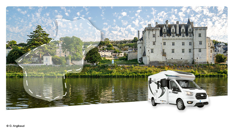 Road Trip en Camping-car Profilé : Evasion en Anjou - 1
