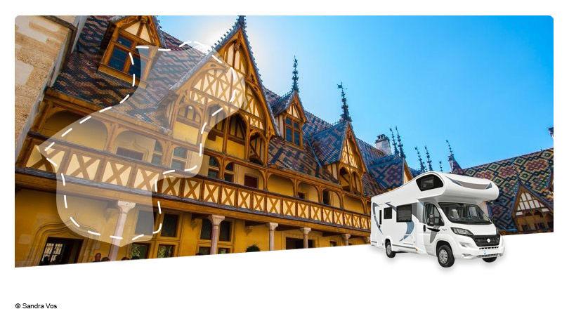 France - Bourgogne Franche Comté - Roadtrip en Camping-car Capucine : Escapade en Côte d'Or