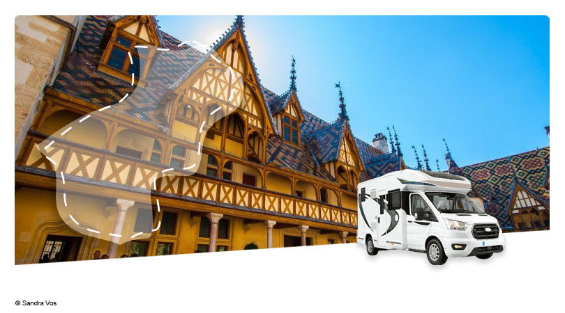 France - Bourgogne Franche Comté - Roadtrip en Camping-car Profilé : Escapade en Côte d'Or