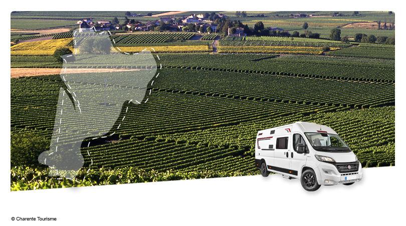 Road Trip en Fourgon Aménagé : Au pays du Cognac - 1