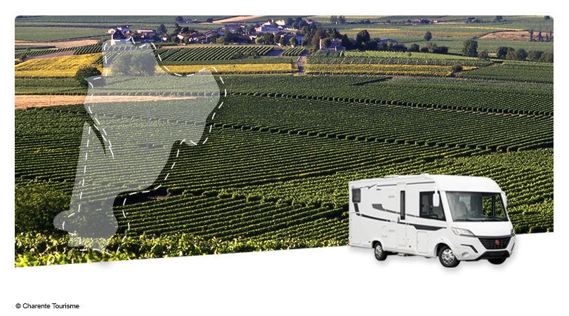 Road Trip en Camping-car Intégral : Au pays du Cognac - 1