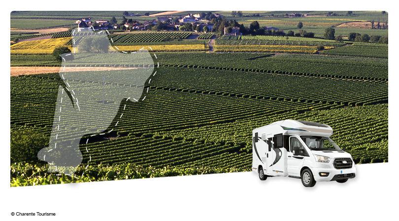 Road Trip en Camping-car Profilé : Au pays du Cognac