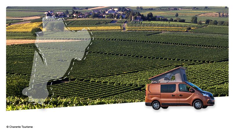 Road Trip en Van Aménagé : Au pays du Cognac - 1
