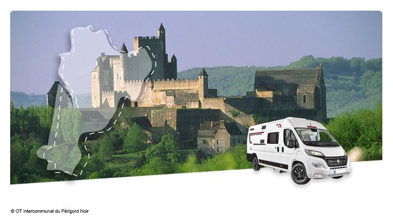 Road Trip en Fourgon Aménagé : La Dordogne - 1