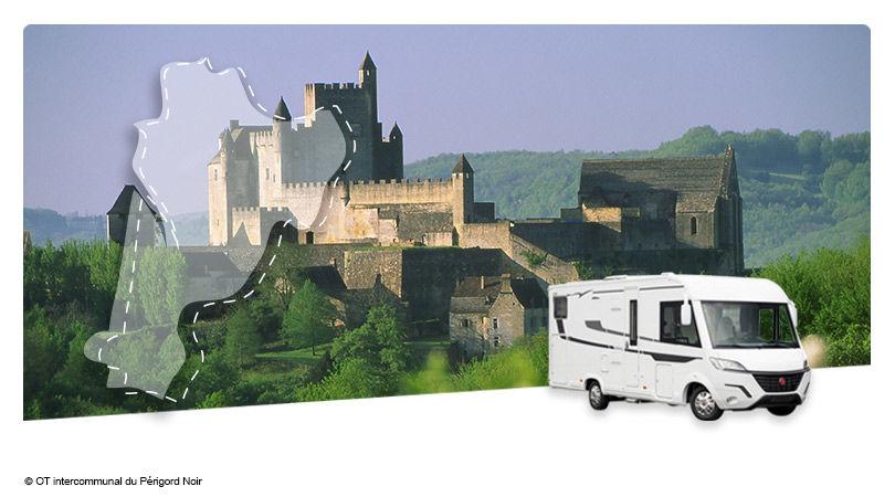 Road Trip en Camping-Car Intégral : La Dordogne - 1