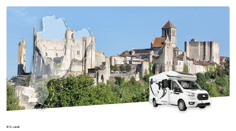 Road Trip en Camping-Car Profilé : La Vienne - Au Pays du Futuroscope