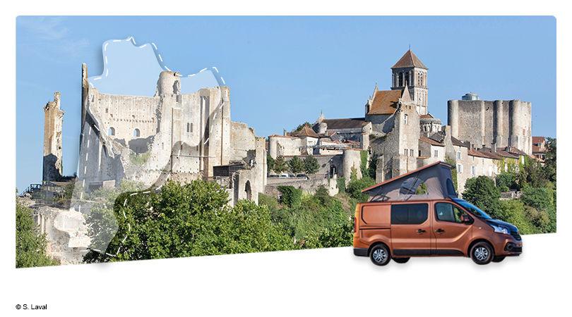Road Trip en Van Aménagé : La Vienne - Au Pays du Futuroscope - 1
