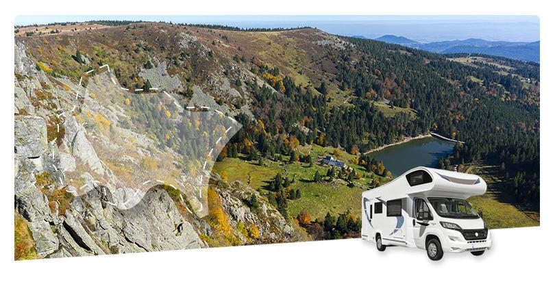 Road Trip en Camping-Car Capucine : En traversant les Vosges - 1