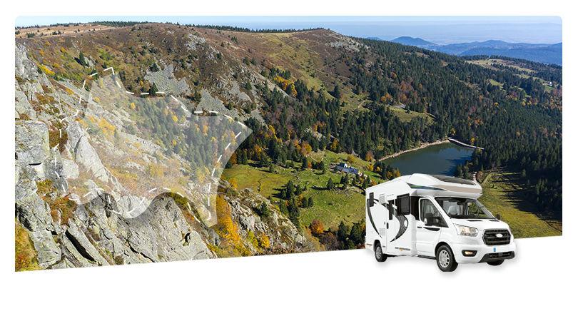Road Trip en Camping-Car Profilé : En traversant les Vosges