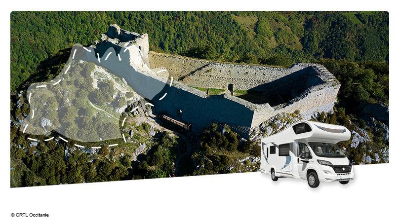 Road Trip en Camping-car Capucine : Balade en Pays Cathare - 1