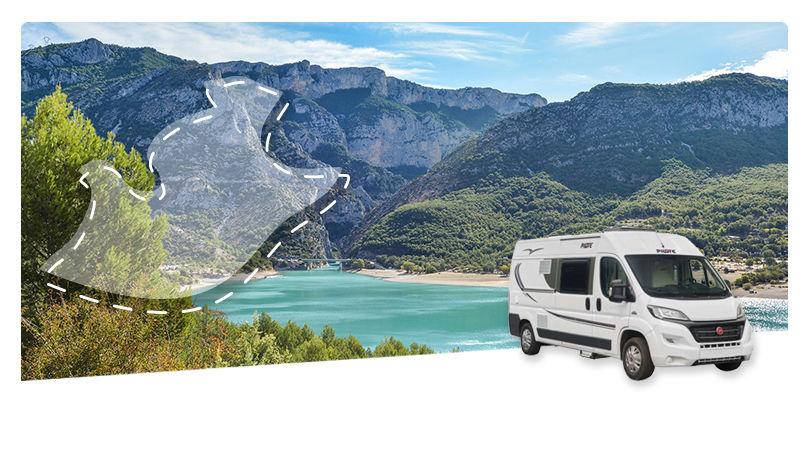 Road Trip en CamperVan : La Provence Verte et le Verdon - 1
