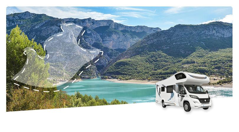 Road Trip en Camping-car Capucine : La Provence Verte et le Verdon - 1