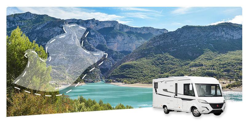 Road Trip en Camping-car Intégral : La Provence Verte et le Verdon - 1