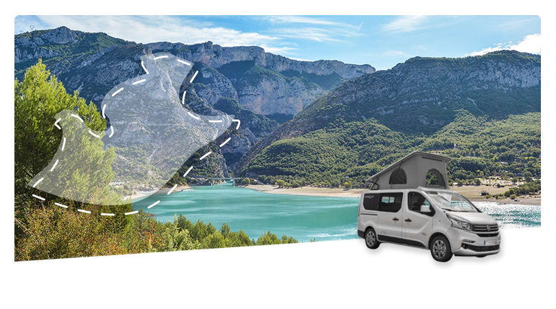 Road Trip en Combi-Van : La Provence Verte et le Verdon