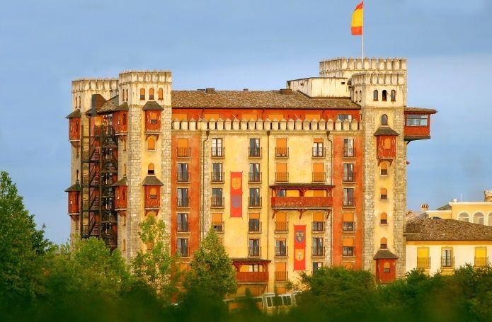 Allemagne - Europa-Park - Hôtel Castillo Alcazar 4* avec accès au parc, Francfort