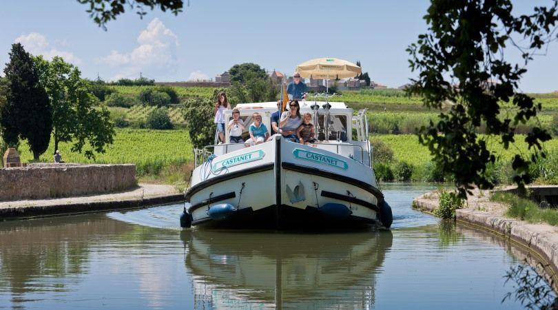 Canal du Midi en bateau sans permis : L'Aude au fil de l'eau - 1