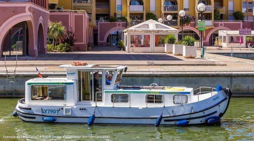 Canal du Midi en bateau sans permis : Antiques cités d'Occitanie