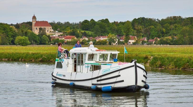La Petite Saône en bateau sans permis : Immersion en nature sauvage - 1