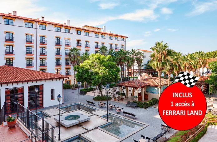 Espagne - PortAventura - Hôtel El Paso 4* avec accès illimité à PortAventura Park et une entrée à Ferrari Land, Salou