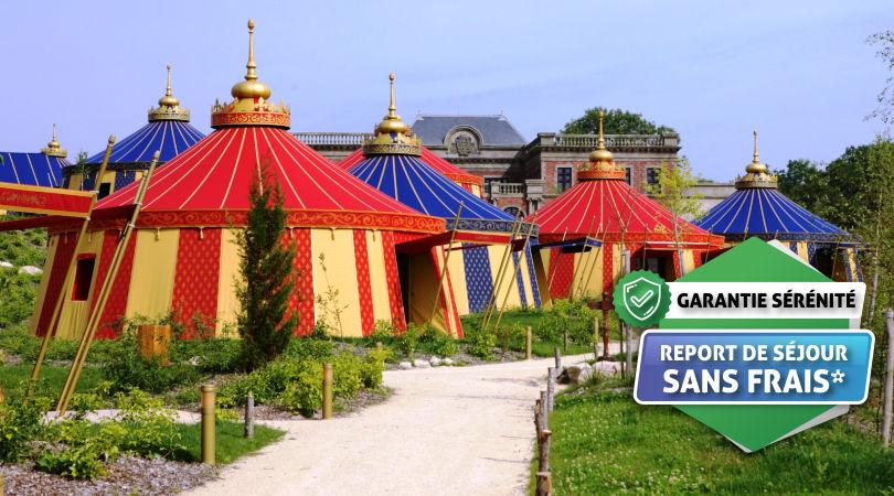 Puy du Fou - Hôtel Le Camp Du Drap D'Or avec accès au parc