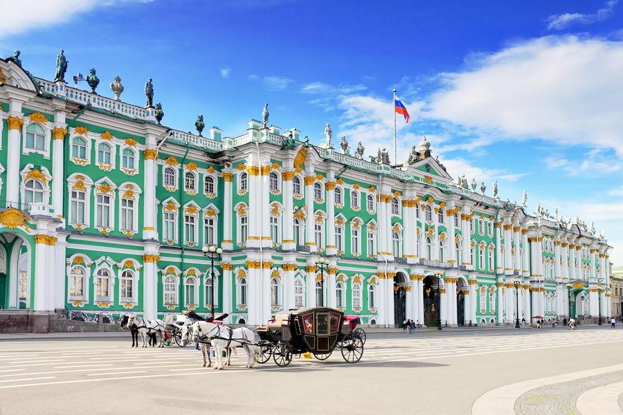 Echappée à Saint-Pétersbourg
